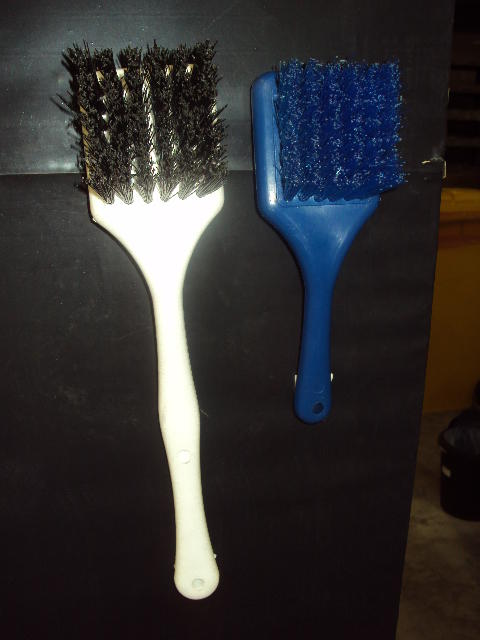 Available in the following: Brush Hygiene Nail Red.Brush Hyg Deck Scrub Head Blue.Brush Long Handle Scrub.Brush Short Handle Scrub.