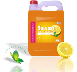 SOLVDET SABS 5L BIO-CITRUSIntensive Cleaner: - Bio-degradable - Fully Bio-degradable