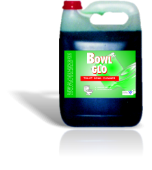 BOWL GLO 5LToilet Bowl Cleaner:- Removes heavy build-up- Acid strengthened