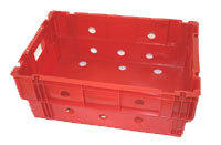 CRATE AM72BSOLID WITH AIR HOLES:600x400x240mmBANANA BOXSTACK - 8 FULL, 15 NESTINGCapacity - 30kg