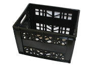 CRATE DM20DAIRY CRATE:424x335x308mmSTACK - 10 HIGHCapacity:12 x 2L             20 x 1L          20 x 1L Sachets