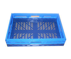 COLLAPSIBLE CRATESVENTED - BLUE or GREEN:600 x 400 x 120mm600 x 400 x 180mm600 x 400 x 230mm